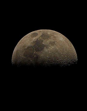 Moon - First Quarter - 2