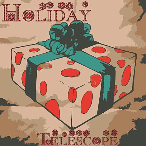 Holidaytelescopetcard