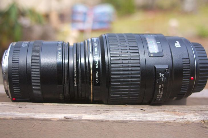 Attatched lens