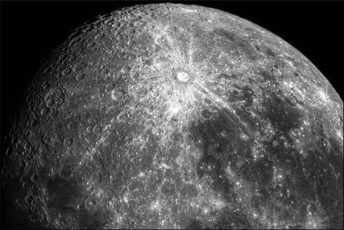 Tycho CraterMono-1